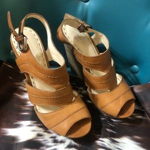 Beautiful Coach wedge shoes